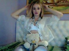 Petite Solo Teen On Webcam