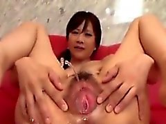 Young And Hairy Japanese Girl Squirting