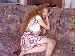 Anaali punatukkainen äiti Annie Body