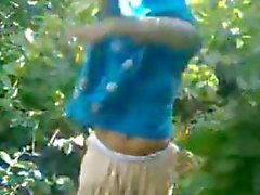 Indisch Odisha dorpsmeisje fucked buiten hardcore wow