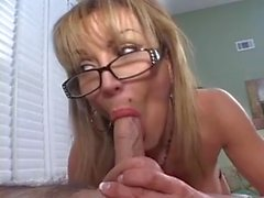 Busty Mature Smokes a CockMC169