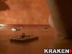 Krakenhot - Suhayla Hard in a Homemade BDSM casting