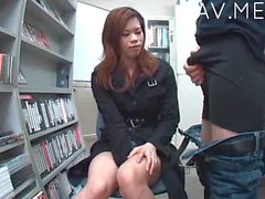 Offise sex with cute Jap girl 04