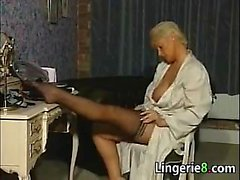 Lonely MILF In Lingereie