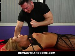 DeviantHardcore - Submissive Asian Teen Gets Tortured