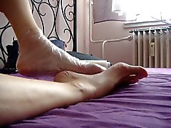 that is how i get a stinky feet
