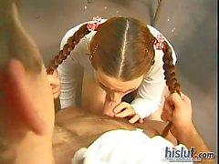 Cute teen Vivi Anne is in a big trouble