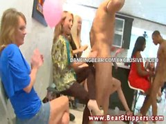 CFNM amateur at bachelorette party