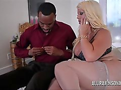 Big Boob Alura Jenson Makes Booty Call to Jonvan Jordan