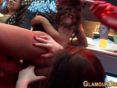 Glamour sluts vag pounded