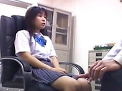 Pretty Asian girl satisfies her need for cock in the doctor