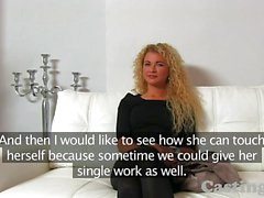 Castingxxx Curly blonde sex goddess