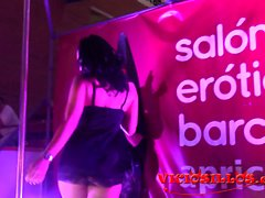 Pamela Sanchez show con un espontaneo SEB 2015