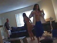 Spycam yakalandı lezbiyenler