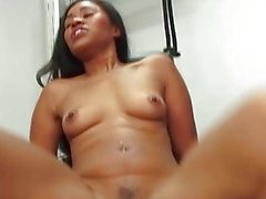 Babes Yasmin and Chanel into lesbian strapon sex