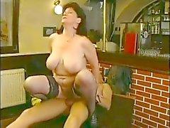 Big tit mature bar fun