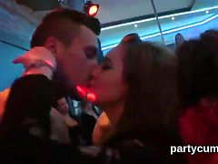 Hot girls get absolutely wild and nude at hardcore party