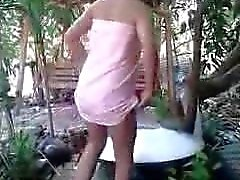 My slutty Thai Wife Sex Scandal #9
