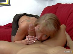Mature slut Darla Krane with wet snatch and monster tits