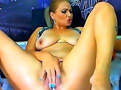 Di spessore Webcam Slut masturba