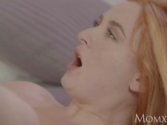 MOM Sexy Russian redhead milf in lingerie