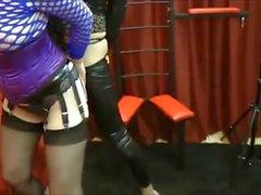 Cima mistress nell'azione