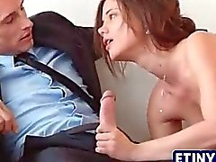 Stunning orgy with a four some