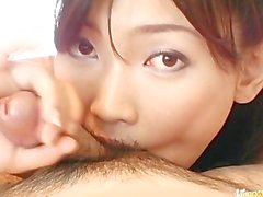 Slutty Japanese Teen Tit Fucked And Is Rewarded With Cum In Her Mouth