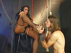 Foot Worshipping Transsexuals 03 - Scene 1
