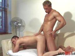 Jock muscle sexy fucking un trou serré