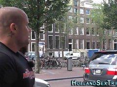 Holländska sköka cummed
