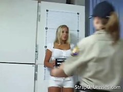 Hot babe arrested and jailed