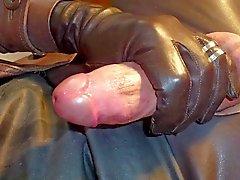 GLOVER1000 - kahverengi deri gurl