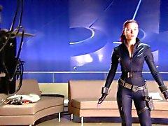 Scarlett Johansson in extras from The Avengers