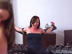Sandra Tied and Tickled 06