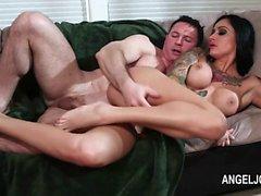 seductively hot Joanna Angel fucking pornstar
