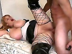 Thick Mature Slut Smoking And Doing Anal