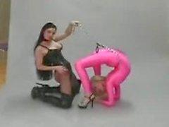 Flexible lesbischen Fetisch