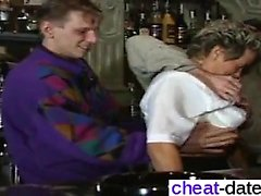 Pussy from cheat-date - Old Lady Orgie Part 1
