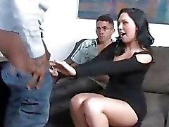 Megan Foxx prendere nero cazzo di fronte le corna