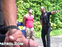 GAYPATROL - alarma silenciosa disparadores policías a la mierda un Perp (xg16057)