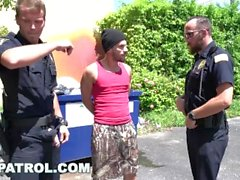 GAYPATROL - Silent Alarm Triggers Cops To Fuck um Perp (xg16057)