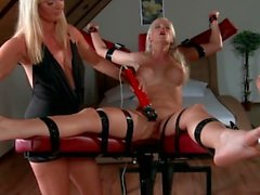 Tickling submission - Tied ticklish orgasm Jasmina