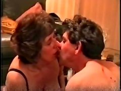 Jean and her son and his girlfriend get down to it