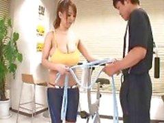 Hitomi Tanaka Turnhalle Tit Ficken