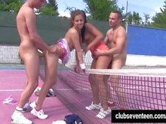 Bi - половые подростков трахнут воздухе