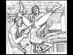 BDSM Porn Skissar