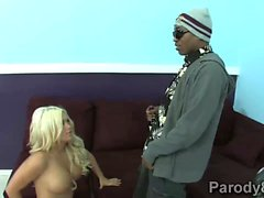 BlackCock uses her powers with Crista Moore tight cunt