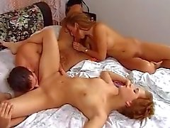 Beautiful Threesome FFM Fuck
