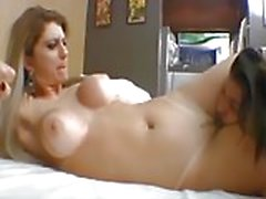 Dominant brazilian mistress makes slave worship her pussy